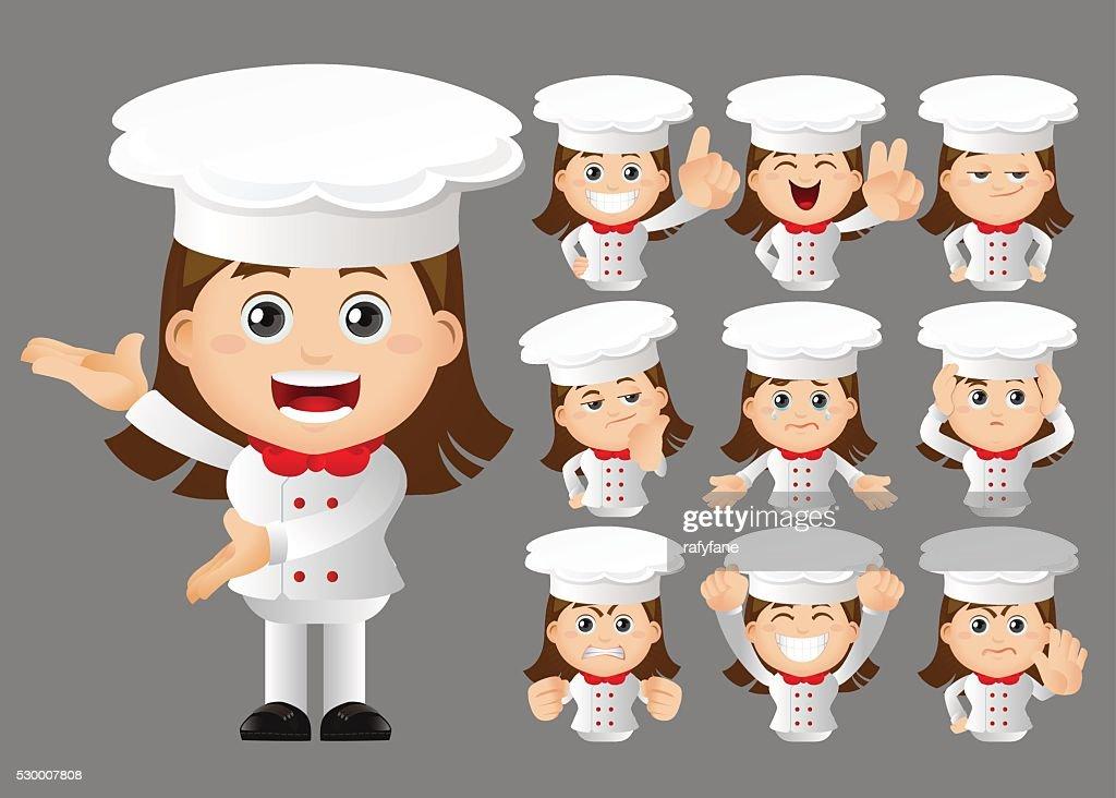 Cute Set - Set of chef