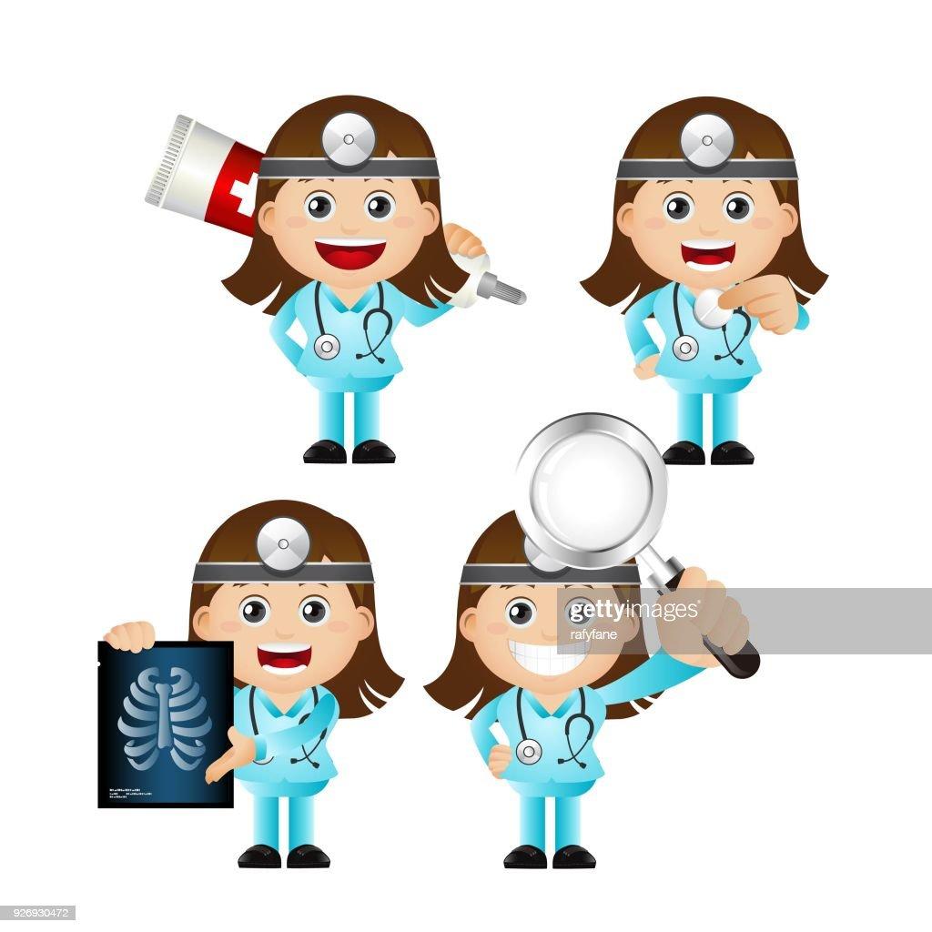 Cute Set - Set of Doctor