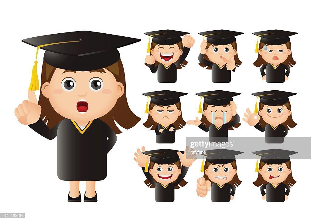 Cute Set - Set of graduate