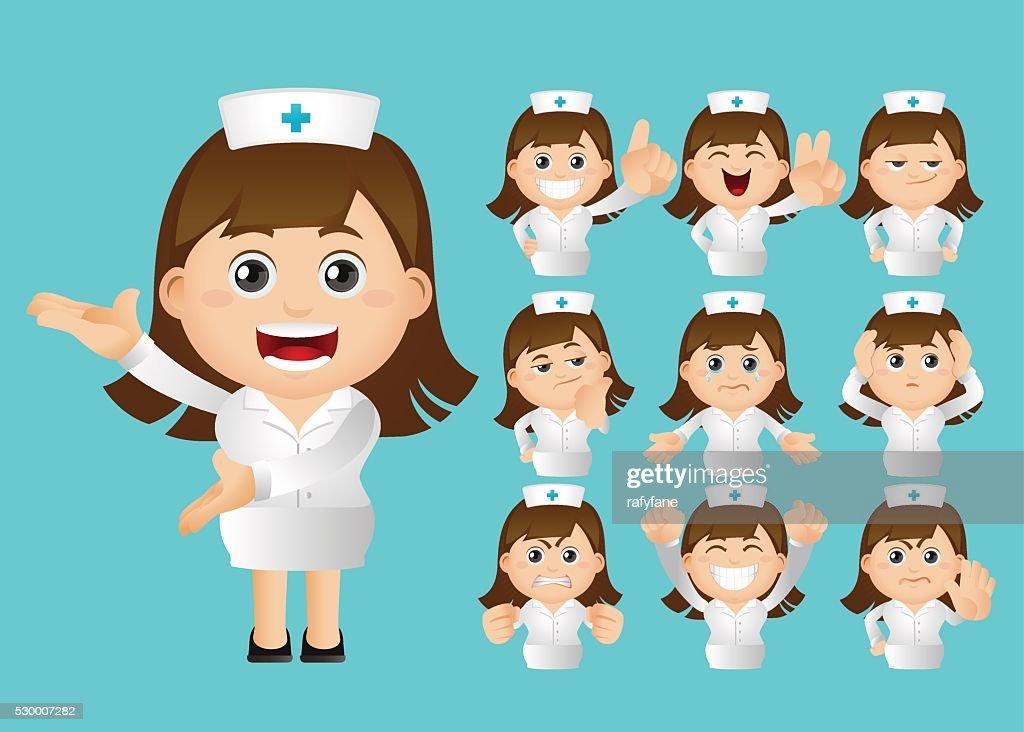 Cute Set - Set of nurse