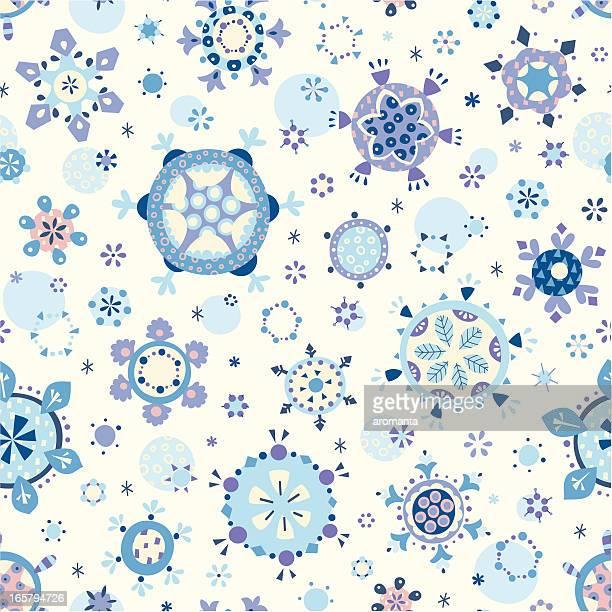 ilustraciones, imágenes clip art, dibujos animados e iconos de stock de snowflakes monada - aplique arte de la costura