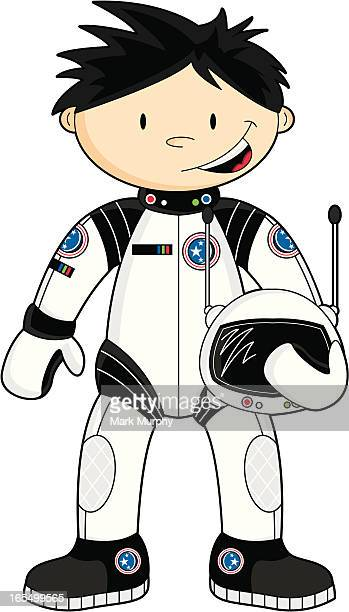 Cute Spaceman Character