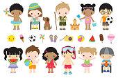 Cute Summer Kids Activities