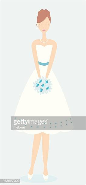 Cute summery bride or bridesmaid