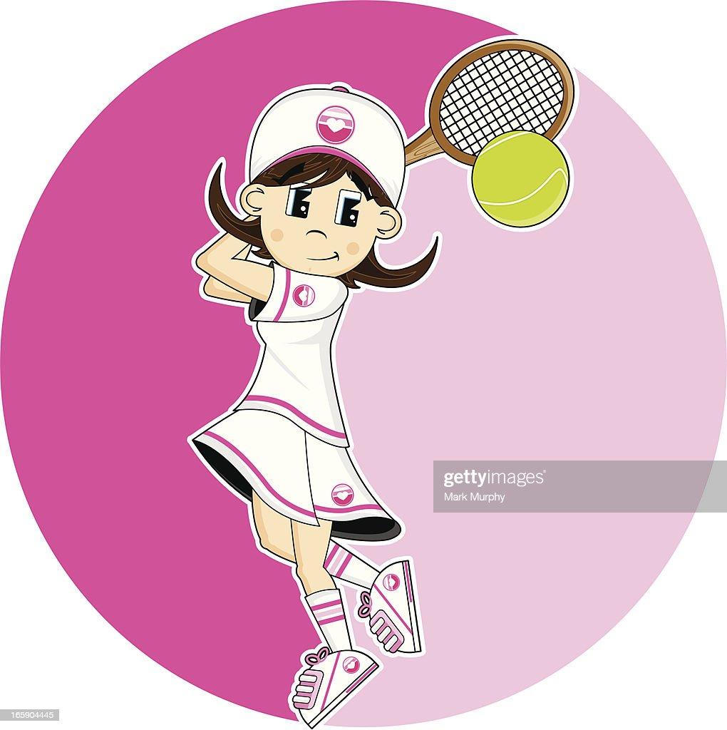 tennis ball madchen
