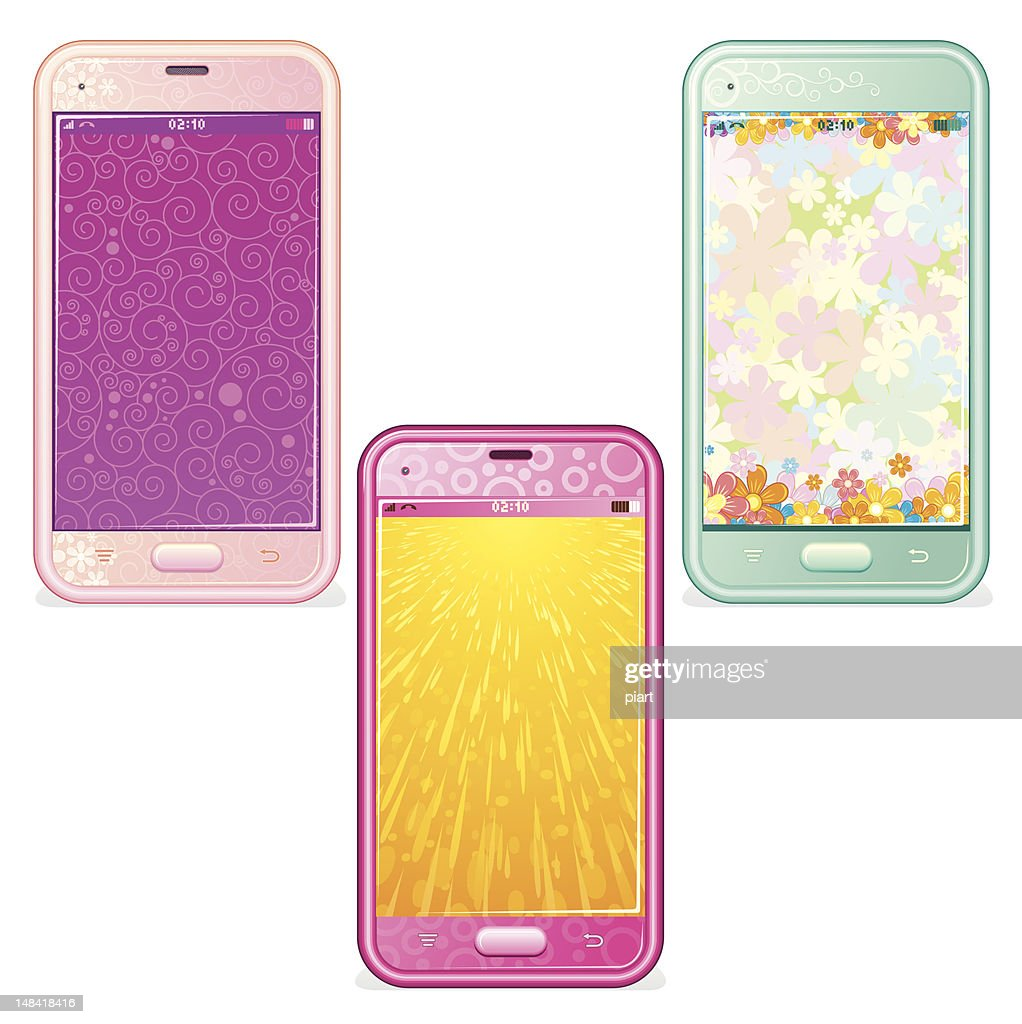 Cute Touchscreen Smartphones
