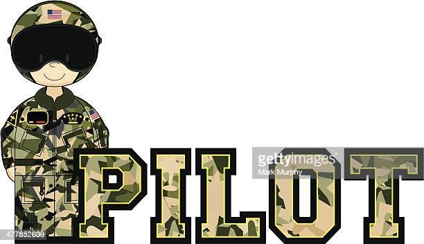 cute usaf style pilot learning letter p - helmet visor stock illustrations, clip art, cartoons, & icons