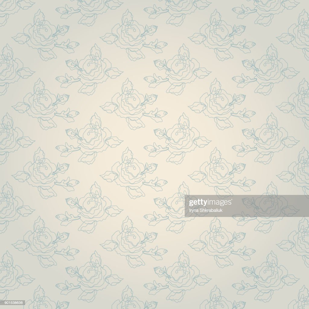Cute vintage shabby chic floral background for your decoration