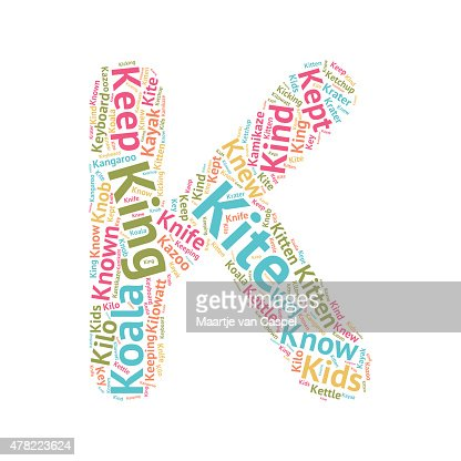 words that start with the letter a joli mot nuage lettres abck clipart vectoriel thinkstock 1735
