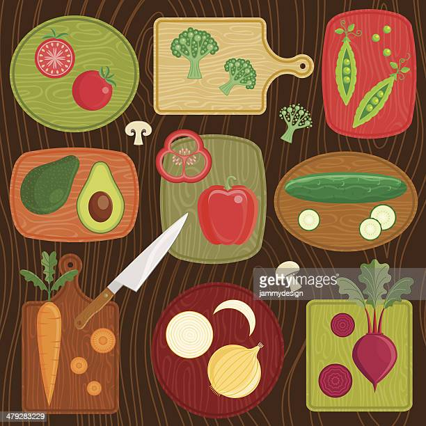 Cutting Board Vegetables