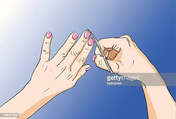 Cutting nails