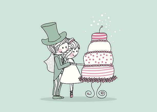 Free Cartoon Bride And Groom Images Pictures And Royalty