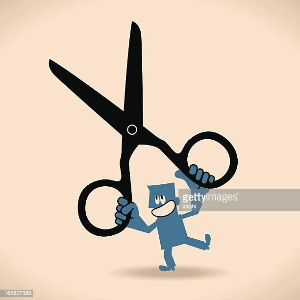 illustrations, cliparts, dessins animés et icônes de couper - coiffeur humour