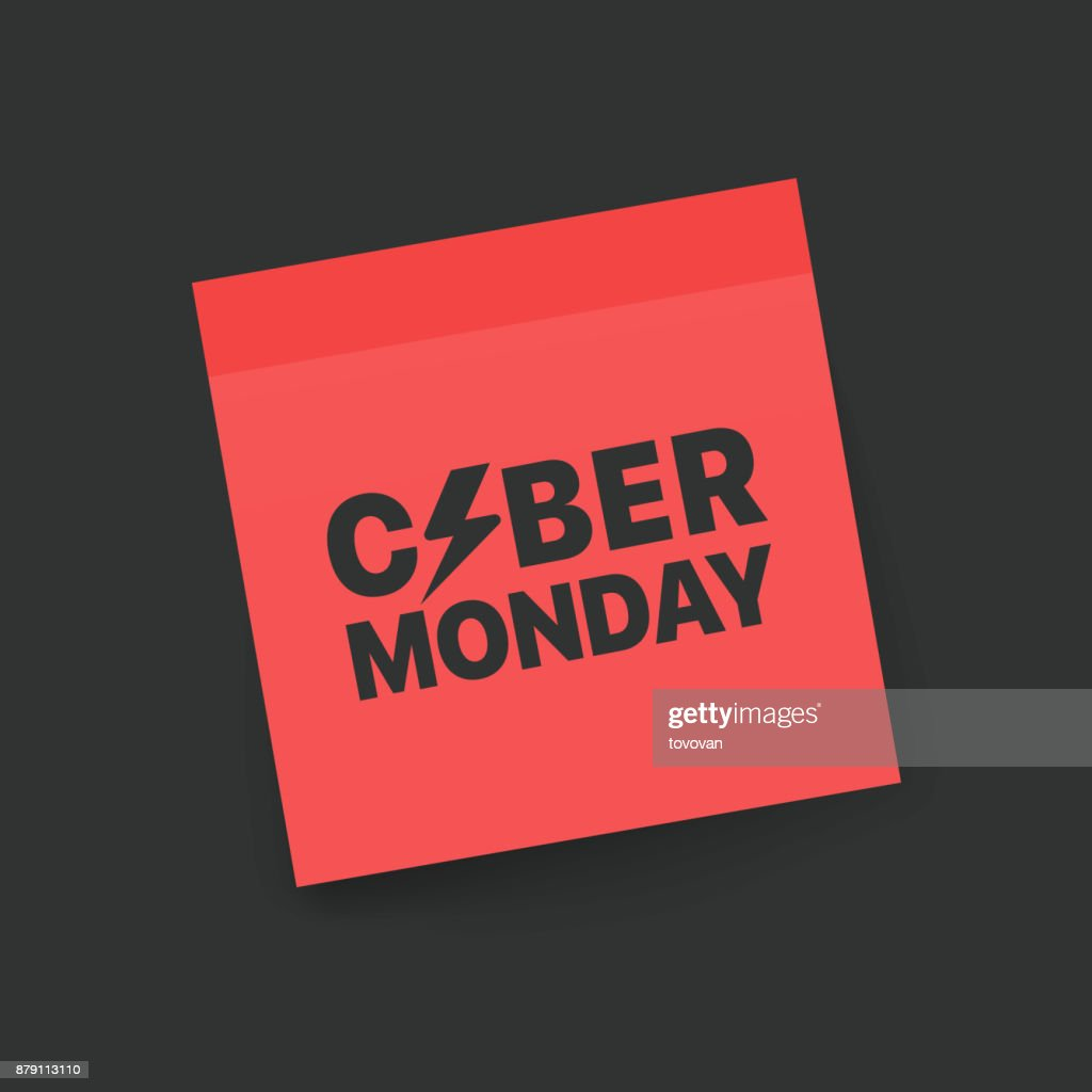 Cyber Monday Concept High Res Vector Graphic Getty Images