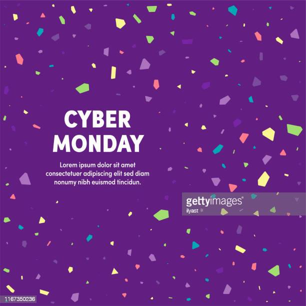 cyber monday multipurpose business cover design - cyber monday stock illustrations
