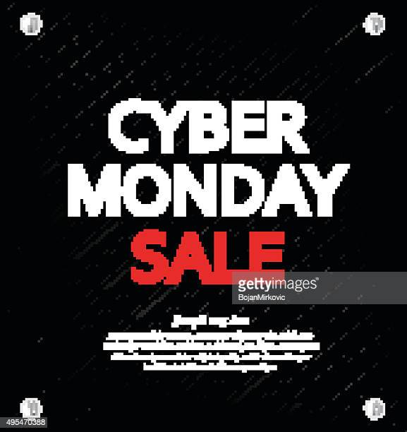cyber monday sale background with space for your text. metal background - cyber monday stock illustrations