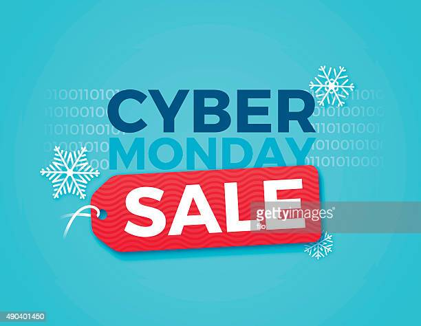 cyber monday sale - cyber monday stock illustrations
