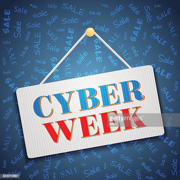 cyber week - cyborg stock illustrations, clip art, cartoons, & icons
