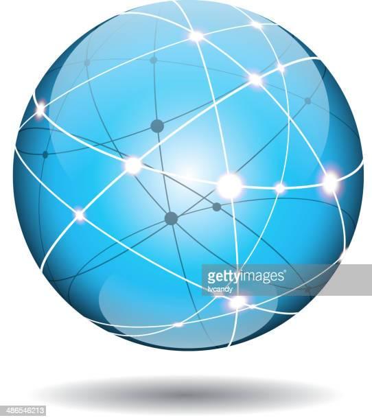 Cyberspace ball