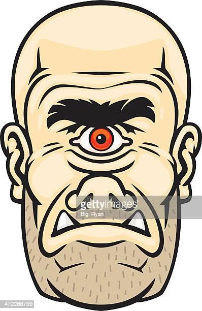 cyclops - cyclops stock illustrations, clip art, cartoons, & icons