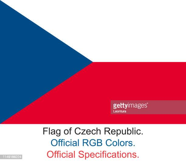 Czech Flag (Official RGB Colours and Specifications)