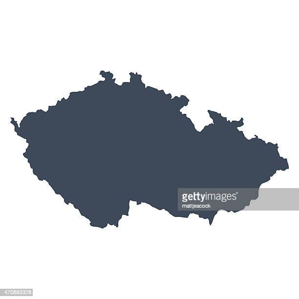 Czech Republic country map