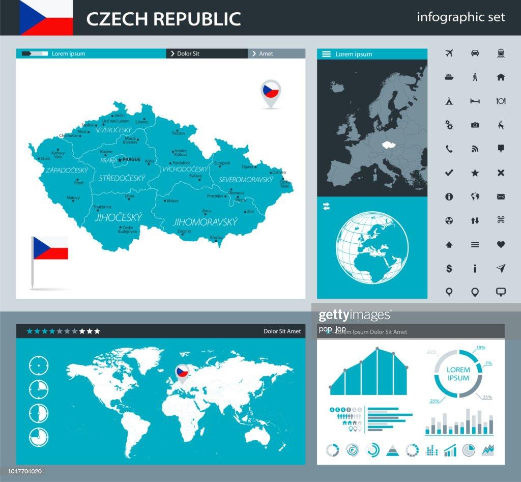 35 Czech Republic Gray Murena Infographic Q10 Vector Art Getty Images
