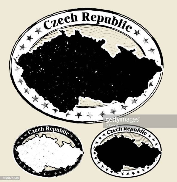 Czech Republic in Grunge Style