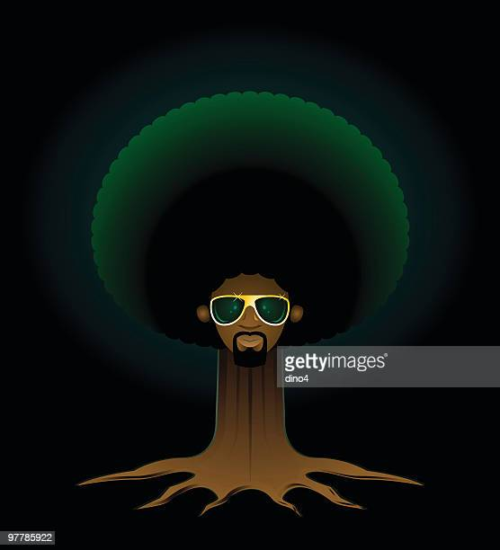 daddy soul tree - north african ethnicity stock illustrations, clip art, cartoons, & icons