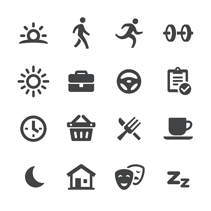 Daily Life Icons - Acme Series - gettyimageskorea
