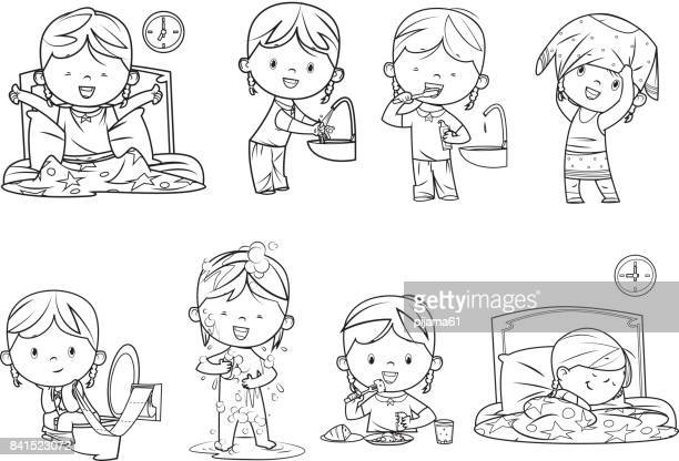 60 Top Pajamas Stock Illustrations, Clip art, Cartoons