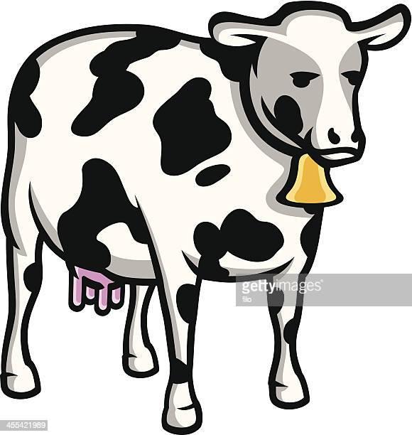 60点の乳牛のイラスト素材クリップアート素材マンガ素材アイコン