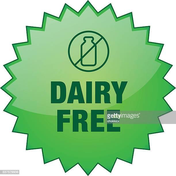 dairy free badge - calcium stock illustrations, clip art, cartoons, & icons