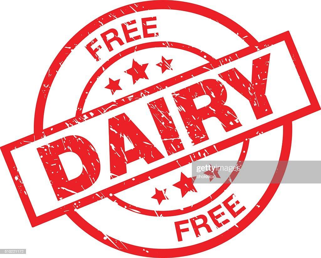 Dairy Free : stock illustration
