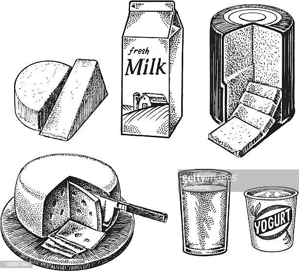 Dairy Items - Milk, Cheese, Yogurt