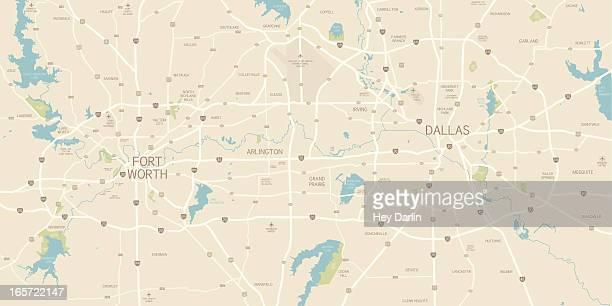 Dallas / Forth Worth Area Map