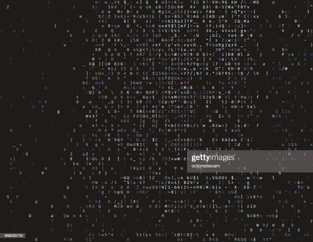 Damaged source code