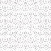 Damask pattern vector. Design print for wallpaper
