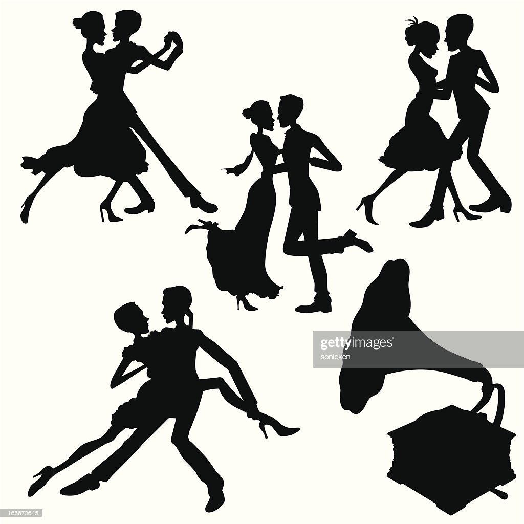 Dance and Music : stock illustration