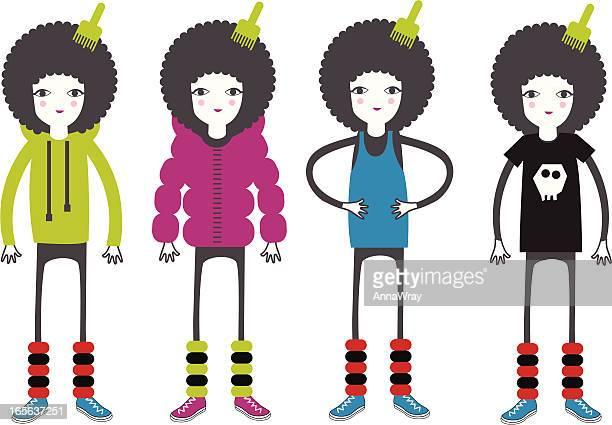 Dance characters