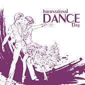 Dance day ballroom dancing latina