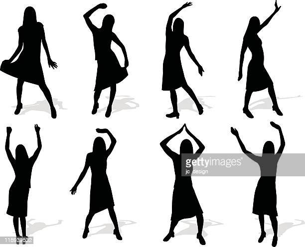 dance set series - applauding stock illustrations, clip art, cartoons, & icons
