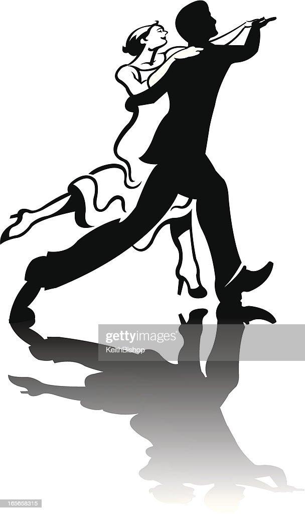 Dancing Couple : stock illustration