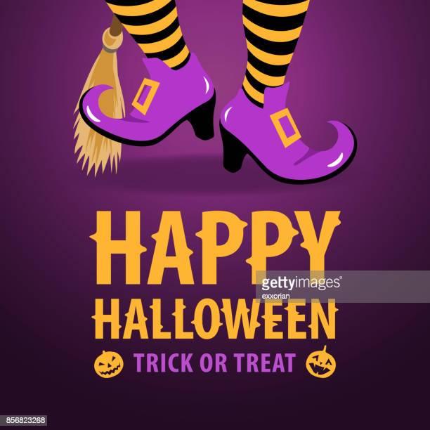 Dancing Halloween Witch