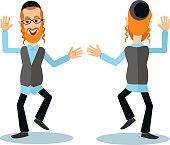dancing jew