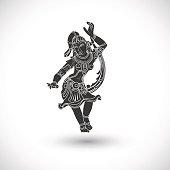 dancing symbol
