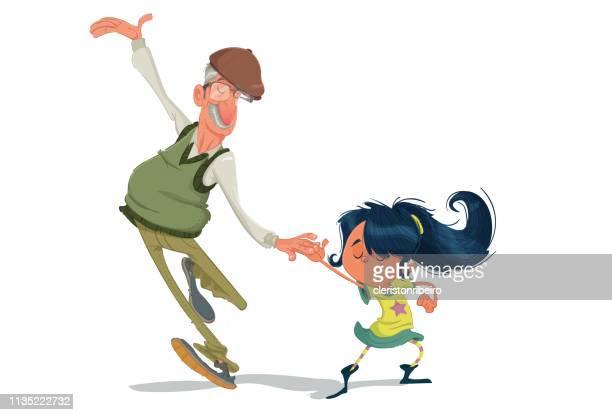 Bailando con el abuelo