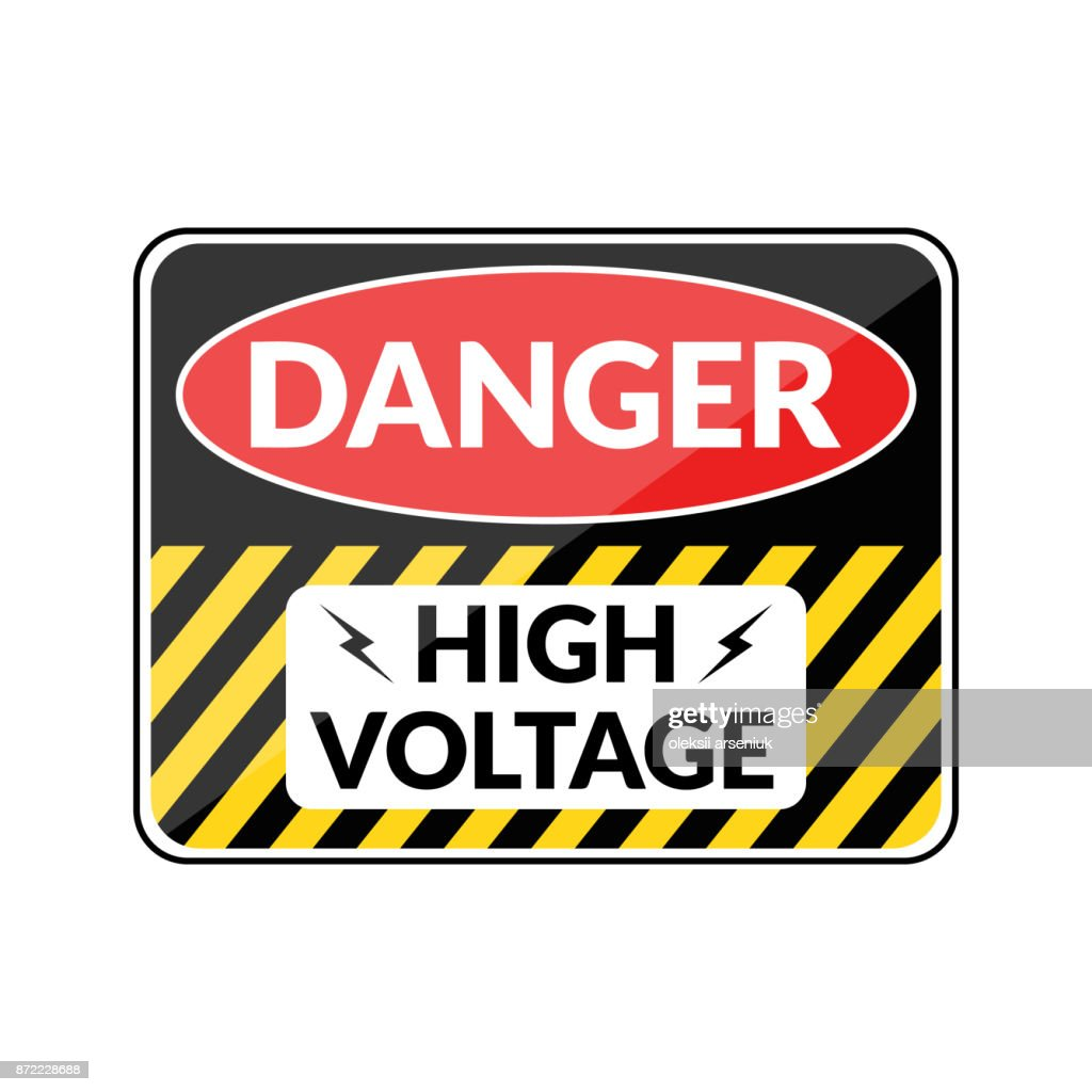 Danger hign voltage