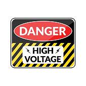 Danger hign voltage