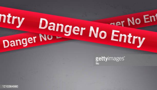 danger no entry background - threats stock illustrations
